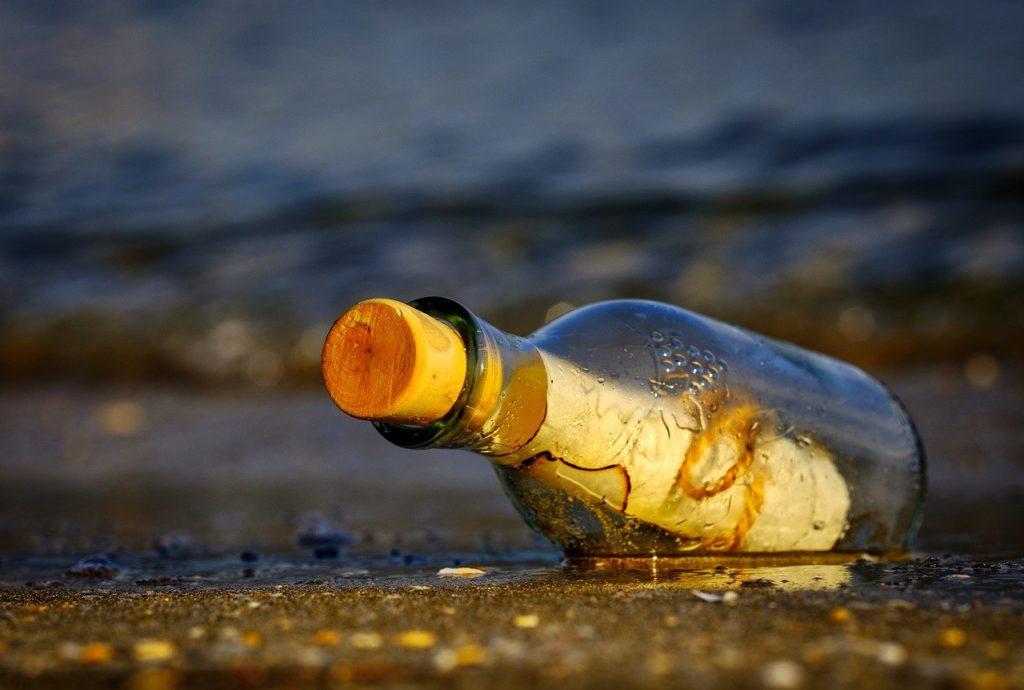message in a bottle, bottle, sea-3437294.jpg